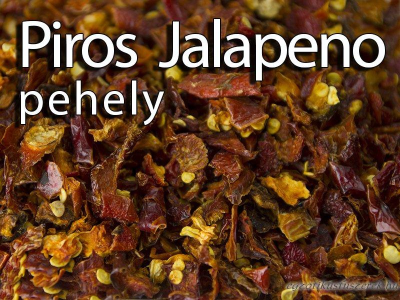 Jalapeno Chili Pehely - Piros