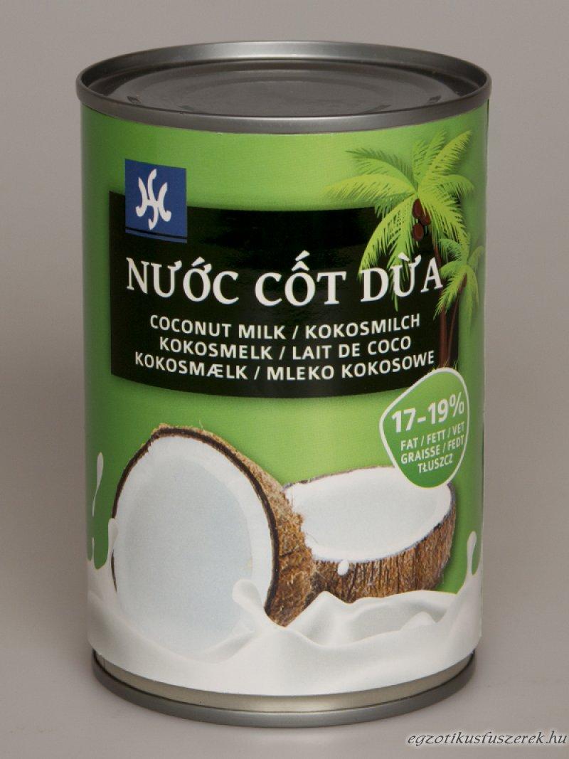 Kókusztej, Extra minőség, krémes 400 ml