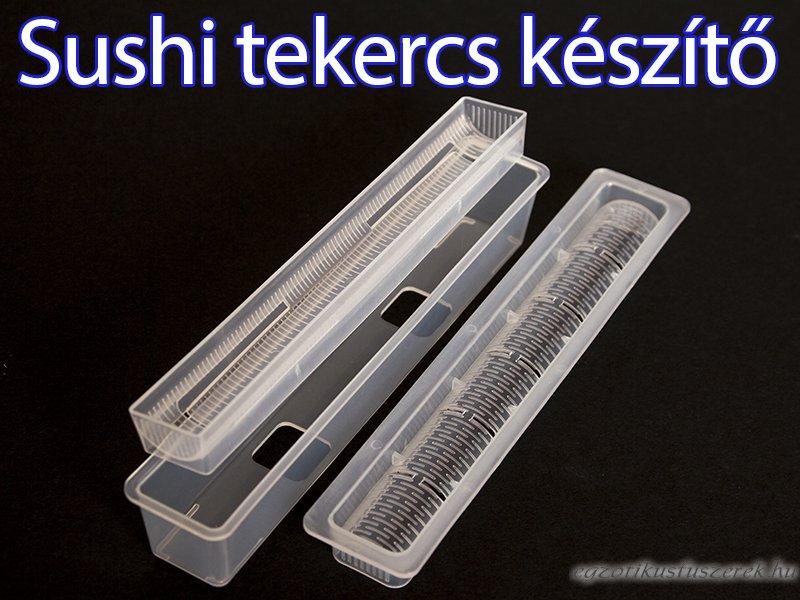 Sushi tekercs készítő - Vékony Maki tekercsnek