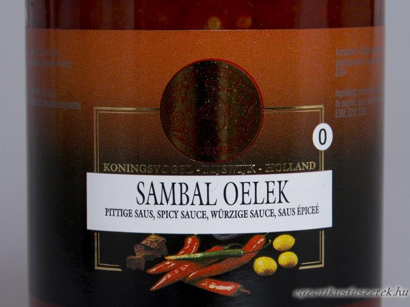 Sambal Oelek - Koningvogel 375g