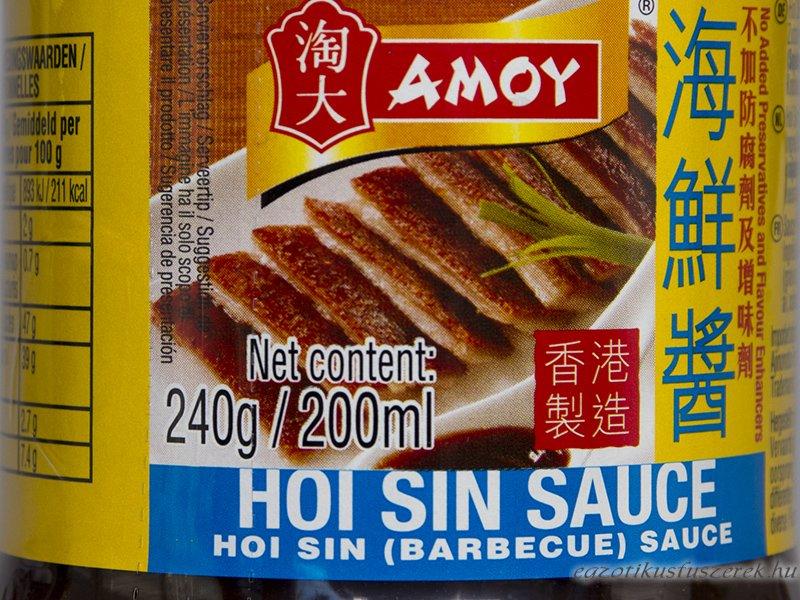 Hoisin Szósz, Barbecue - Amoy