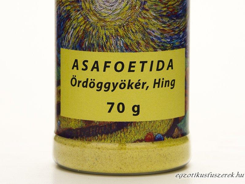 Asafoetida, Hing, Ördöggyökér - Fűszerszóróban 70g