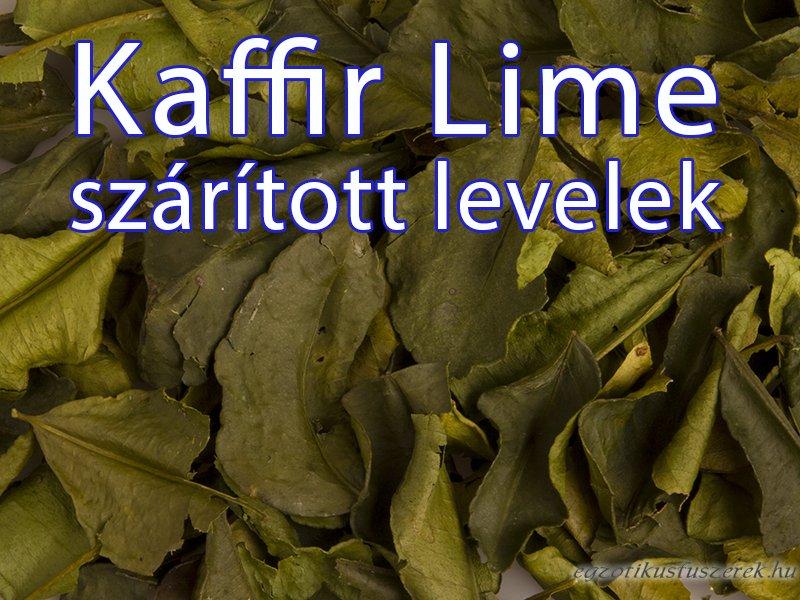Kaffir Lime Levelek - szárított, egész