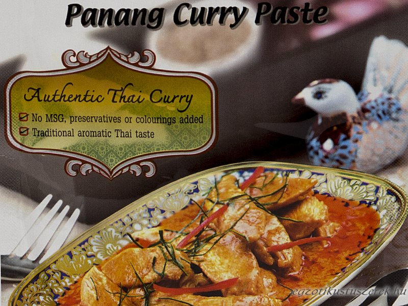 Panang Curry Fűszerkrém, Lobo