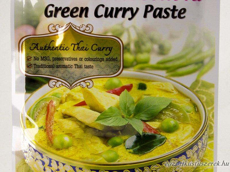 Zöld Curry, Thaiföldi fűszerpaszta, Lobo